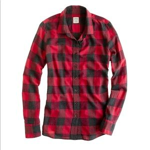 J.Crew perfect buffalo check plaid